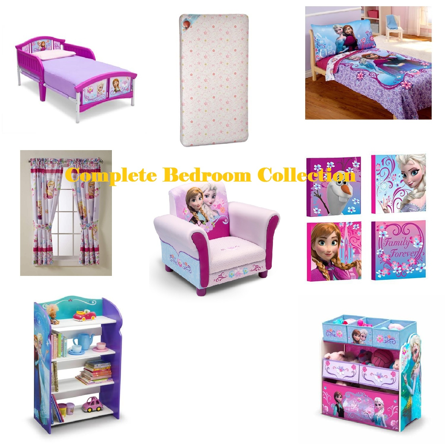 Toddler Complete Bedroom Furniture And And 17 Similar Items