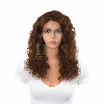 "Jk Trading Iris Front And Back Lace 100% Remy Human Hair Wig ""Grace 18 Inch"" - $219.99"