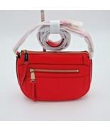 NWT MICHAEL Michael Kors Pink Julia Medium Leather Messenger Crossbody B... - $138.00