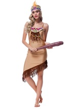Sexy Native Indian Maiden Carnival Halloween Party Fancy Costume - $27.58
