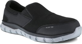Reebok Alloy Toe Sublite Slip On EH Rated Slip Resistant EVA Midsole 6 t... - $99.99