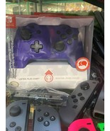 PDP Faceoff Deluxe + Audio Wired Controller For Nintendo Switch Purple C... - $24.70