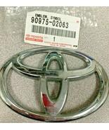 NEW Genuine TOYOTA 90975-02063 Name Plate Chrome Emblem Symbol Badge   - $14.95