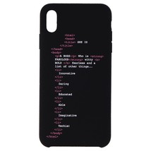 My Social Canvas GRLCODEPHNCS004 Girl Code Case for iPhone XS Max - Black - $30.79
