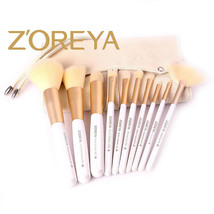 10Pc Makeup Brushes Tool Set Cosmetic Eyeshadow Face Powder Foundation L... - $14.03