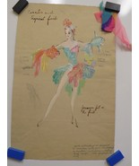 FREDDY WITTOP Tropical Fish COSTUME Design - $356.39