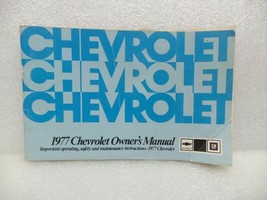 1977 Chevrolet Chevy Owners Manual 16055 - $16.82