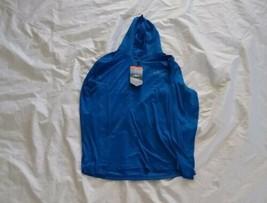 Habit Men's Half zip Front Wicking Long Sleeve Hoodie Marlin Blue Size M... - $29.71