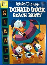 WALT DISNEY'S DONALD DUCK BEACH PARTY #3 (1956) Dell Giant Comics VG+/FINE- - $24.74