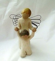 """Willow Tree Guardian Angel holding child 5""""  no... - $19.79"""