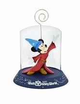 Walt Disney World Parks 2017 Sorcerer Mickey Mouse Figurine Clip Frame - $24.60
