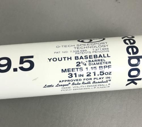 Reebok Vector O Tech 31/21.5 -9.5 Baseball Bat