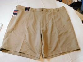 Roundtree & Yorke Easy Care Travel Smart Mens Shorts 50 Big Man Classic ... - $29.21