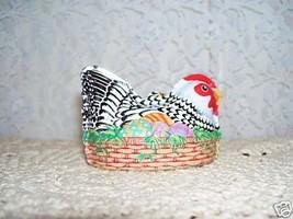 1999 Hallmark Easter Ornament Hen on Nest - $18.69