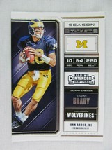 Tom Brady Michigan Wolverines 2018 Panini Contenders Draft Football Card 94 - $0.98