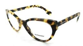 Burberry Rx Eyeglasses Frames BE 2289 3278 51-20-140 Light Havana Made in Italy - $176.40