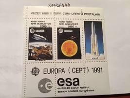Cyprus Turkysh Europa s/s 1991 mnh - $6.20