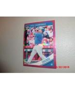 2018 Donruss Optic Pink Prizm Refractor #78 Kyle Schwarber -Chicago Cubs- - $2.97