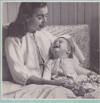 1945 Beehive Knit Pattern Book 129 Children Child Infants Toddlers Fenton Glass - $13.54