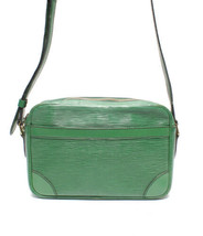 Auth Louis Vuitton EPI  Trocadero Shoulder Bag Green Inner Pockets LVB0545 - $439.56