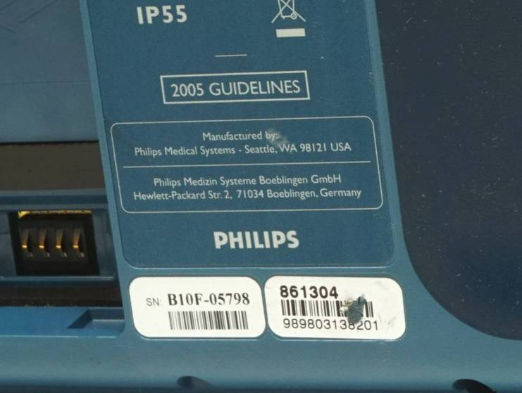 Philips Heartstart FRx AED 861304, No Pads and 4 similar items