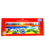 Faber-Castell  25 Erasable Plastic Crayons  Assorted Shades   70 mm each - $8.69
