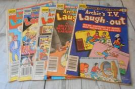 5 Archie  T.V. Laugh Out Comics Series 94 98 99 103 104  1984 1985 - $8.56