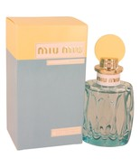 Miu Miu L and #39;eau Bleue By Miu Miu Eau De Parfum Spray 3.4 Oz - $96.99