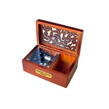 YouTang Creative Hollow Wood 18-Note Wind-up Musical Box,Musical Toys,Tu... - $17.53