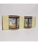Spooky Town Mug Set Debbie Mumm 4 Halloween Sakura Cups With Box - $39.59