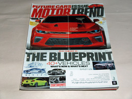 Motor Trend July 2015 Car Truck Vehicle Magazine 2016 Camaro SS Lighter Faster - $8.45