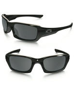 Oakley Sunglasses Fives Squared Polished Black w/Black Iridium Polariz O... - $80.37