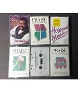 Hosanna Music Lot Of 6 Praise & Worship Christian Music Cassettes #3 - $20.00