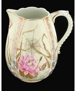 BEST ANTIQUE ARTS & CRAFTS AESTHETIC PERIOD HP POTTERY DRESSER JUG PITCHER - $188.99