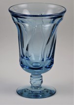 Jamestown, No. 2719, Azure Blue, 6 Inch, No. 93, Footed Short Stem, Ice Tea - $10.00