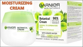 Garnier - Botanical Cream - 50ml Grape Moisturizing Cream Without Parabens - $10.86