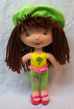 "Cute Strawberry Shortcake Tropical Girl Character 11"" Plush Stuffed Animal Toy - $16.34"