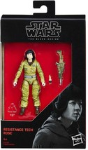 Star Wars The Black Series Rose Tico 3 3/4 Inch Action Figure NIB - $9.88