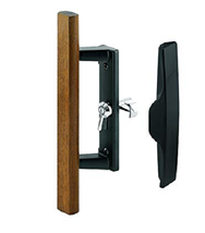 Prime-Line Patio Sliding Door Handle Latch Set Internal Locking Black Ne... - $26.12