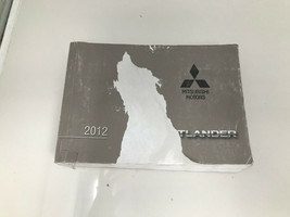2012 Mitsubishi Outlander Owners Manual OEM Z0N26 - $38.39
