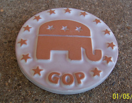 Scarce Frankoma 2008 Republican Elephant GOP Vote Token - $15.84