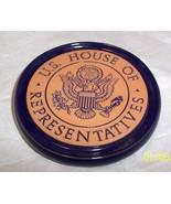 FRANKOMA U.S. HOUSE OF REPRESENTIVES TERRA COTTA SINGLE COASTER - $12.86