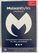 Malwarebytes Anti-Malware Premium 4.2 10 PC- 1yr 2020 version Product Ke... - $93.35