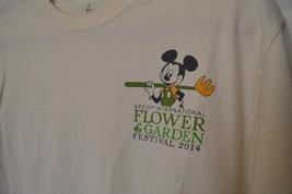 Walt Disney World Epcot International Flower & Garden Festival 2014 Tshirt Large - $12.09