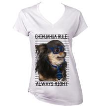 Chihuahua Black  Always Right    New Graphic T Shirt   S M L Xl Xxl - $26.23