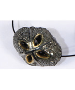 Fancy Cutwork Bead Finding .925 Sterling Silver with Pave Diamonds - $75.00