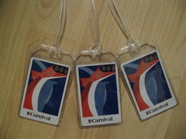 Carnival Luggage Tags - Cruise Ship Repurposed Playing Cards Name Tag Se... - $19.79