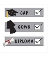 "32 (2pk of 16) Tassel Talk Graduation Beverage Napkins - Check List (10""... - $9.85"