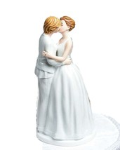 """Romance"" Gay Lesbian Wedding Cake Topper Figurin 6"" Tall  wedding cake topper - $43.07"