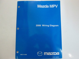 2006 Mazda Mpv Van Electrical Wiring Diagrams Manual Factory Oem Book 06 - $79.19